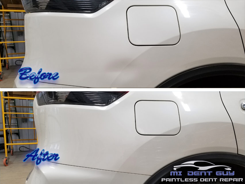 Image of Angola Paintless Dent Repair before and after