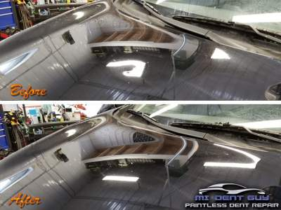 image of Galesburg Paintless Dent Repair before and after