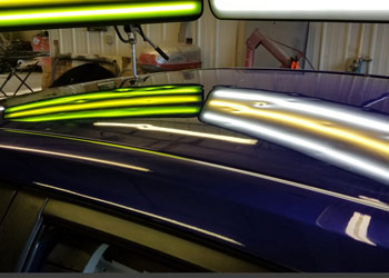 image of hail damage repair mi dent guy paintless dent repair